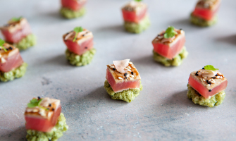 Canapes catering in London