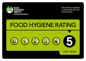 Food Hygiene Rating the pie man